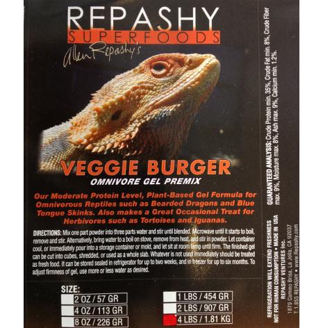 Veggie Burger 340 ge burk